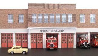 Acton fire station kit build service