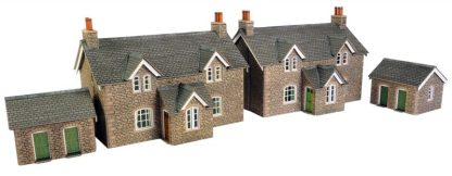 PO255 00 Scale Workers Cottages