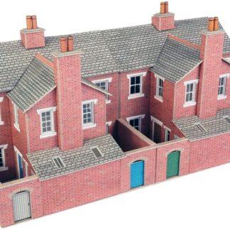 Metcalfe terraced backs in brick
