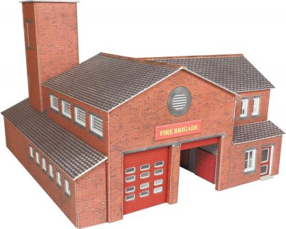 PO289 00 Scale Fire Station