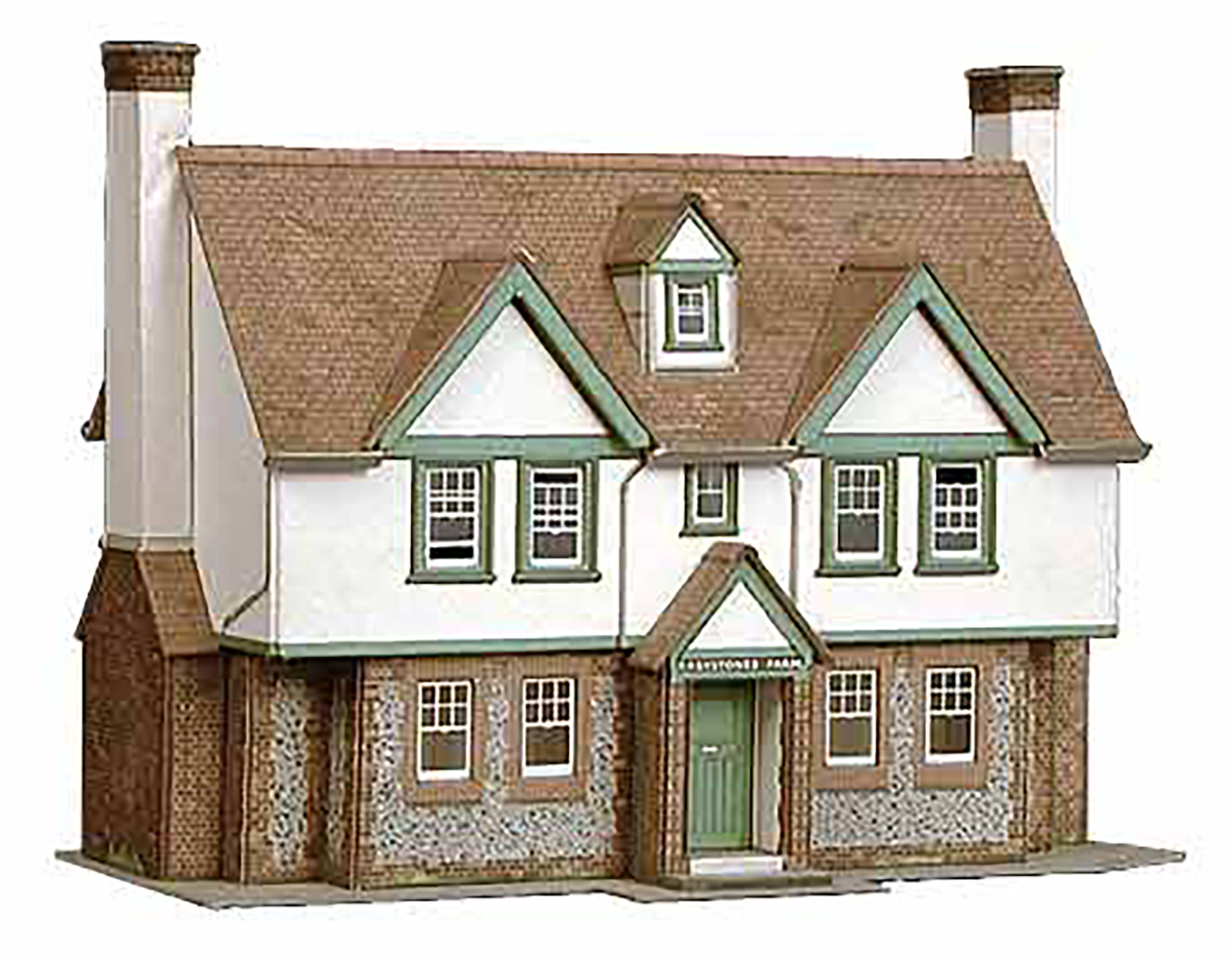 00 Gauge NEW Superquick B22 Two Country Town Shops