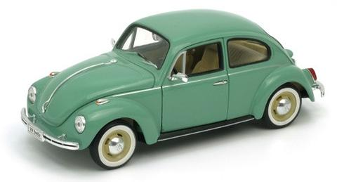 Welly 1/24 scale Classic VW Beetle In Green