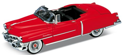 Welly 1/24 scale Chevrolet Cadillac Eldorado in Red,
