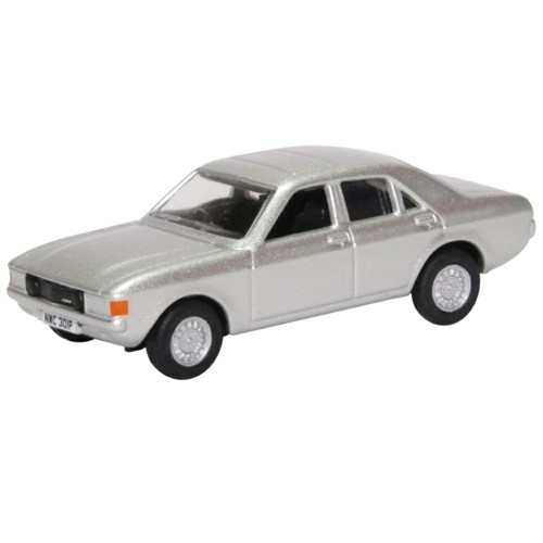 Oxford Models 1-76 Ford Consul Granada In Astro Silver