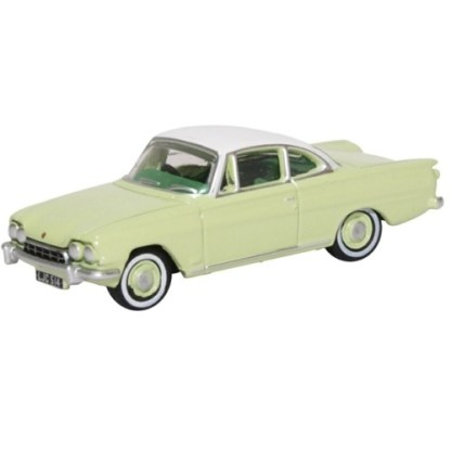 Oxford Models 1-76 Ford Consul Capri In lime Green And Ermine White