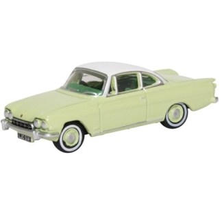 Oxford Models 1-76 Ford Consul Capri In lime Green And Ermine White