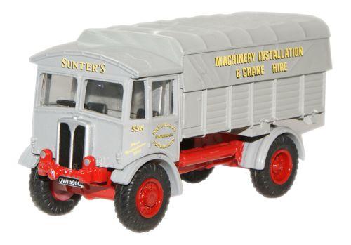 Oxford Models 1-76 Sunters AEC matador lorry