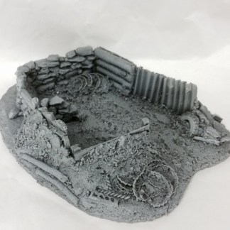 Javis War gaming 25/ 28 mm Trench type 4.