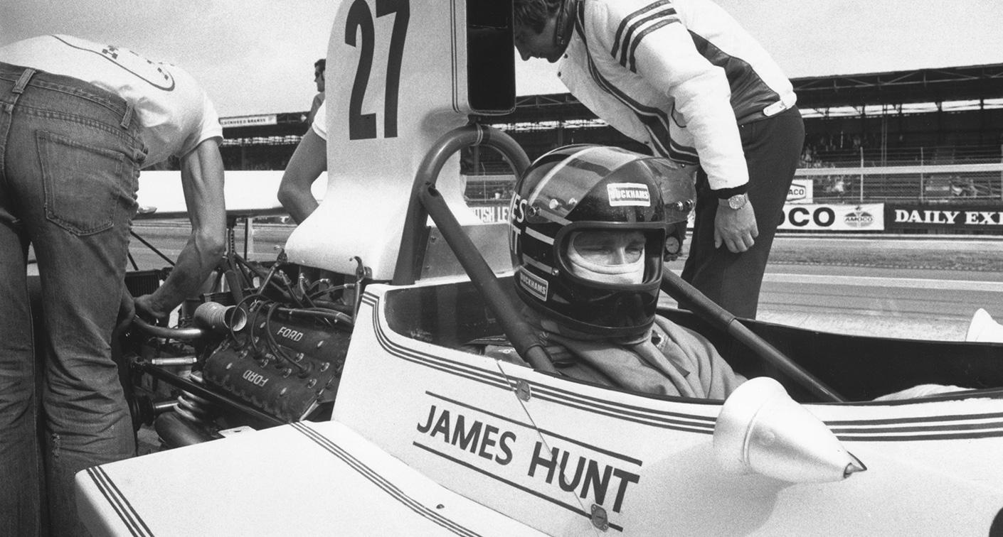Snapshot Hunts Queasy Homecoming Silverstone 1973