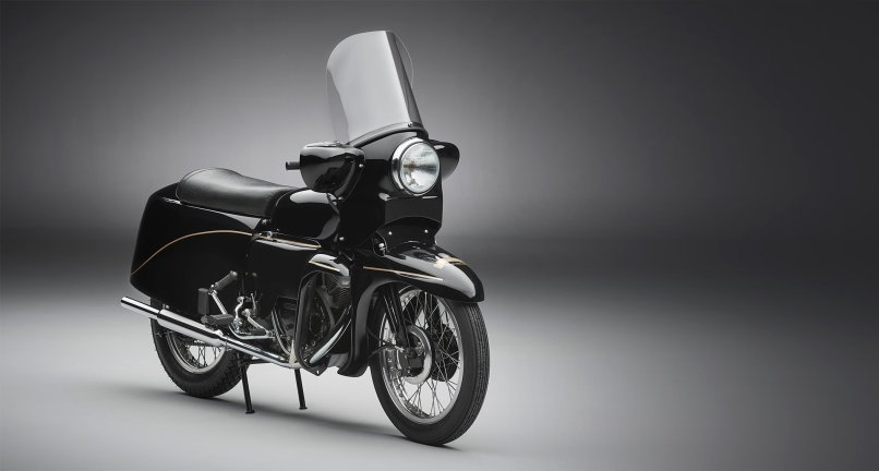 Vincent Black Prince Is A Two Wheeled