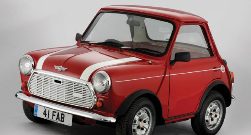 1961 Austin Mini   From the collection of Andy Saunders     Ha Ha     Austin Mini From the collection of Andy Saunders     Ha Ha   1961