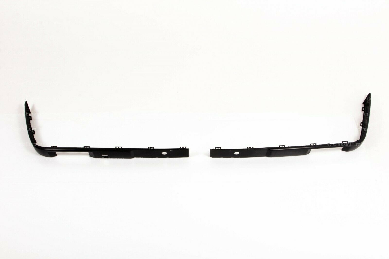 Euro Plastic Front Bumper Trim Set For Late Model E30