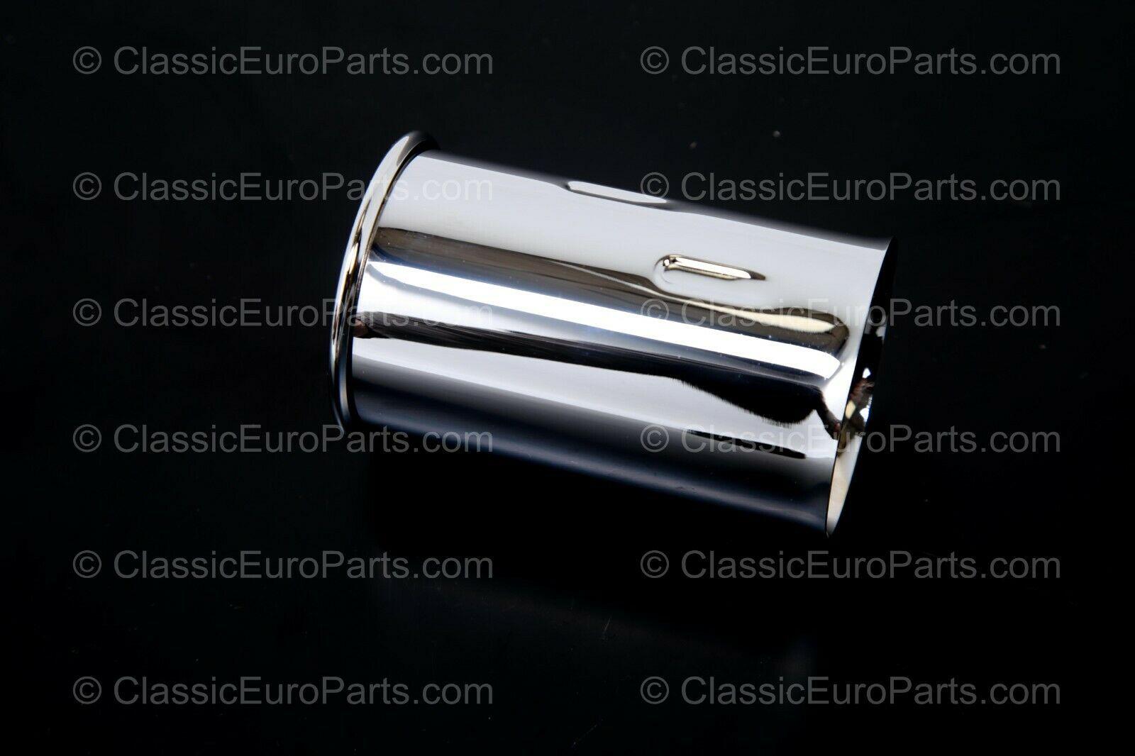 55 mm diameter chrome exhaust muffler tip for bmw cars
