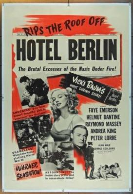 Hotel Berlin (1945) with Faye Emerson and Raymond Massey