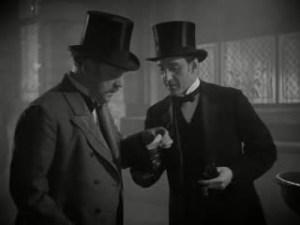 1939 Hound of the Baskervilles Nigel Bruce and Basil Rathbone
