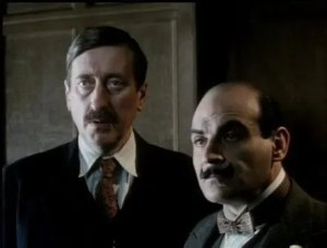 1994 hercule poirot's christmas david suchet and philip jackson 2