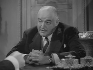1943 Background to Danger Sydney Greenstreet