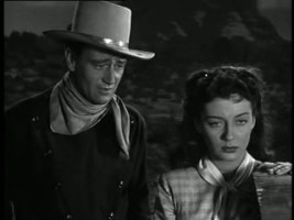 1947 Angel and the Badman John Wayne and Gail Russell 1