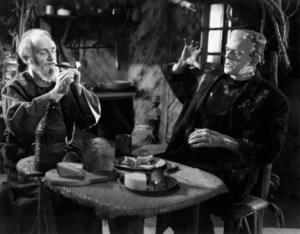 Hermit scene from Bride of Frankenstein