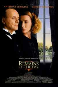 1993 remains of the day poster