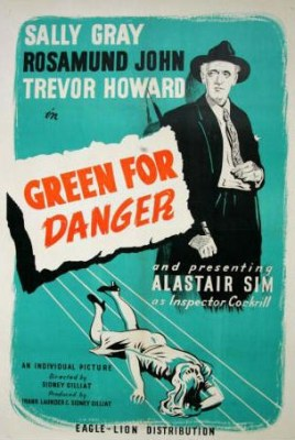 Green for Danger (1947) starring Alastair Sim, Trevor Howard and Leo Genn
