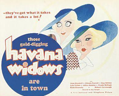 1933 Havana Widows