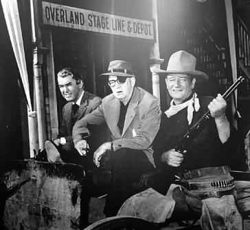 Jimmy Stewart John Wayne John Ford