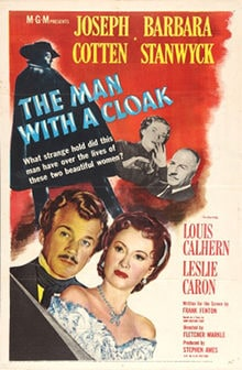 The Man with a Cloak (1951) with Joseph Cotten and Barbara Stanwyck