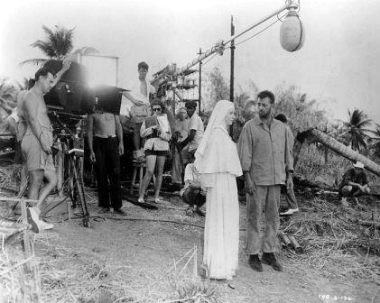 1957 heaven knows mr allison set deborah kerr robert mitchum