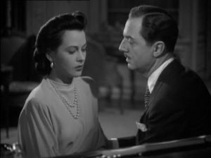 William Powell and Hedy Lamarr in Crossroads