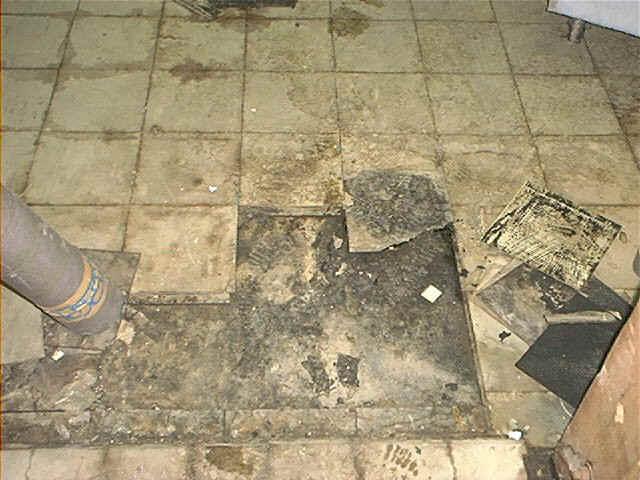asbestos floor tiles what you should