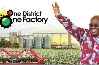 Thirty-Five Factories ReadyIn Central Region Under 1D1F