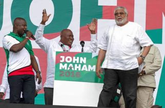 Rawlings Will Campaign For NDC With Bagbin As Flagbearer