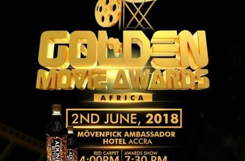 Golden Movie Awards Africa 2018 Slated For June 2