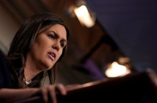 "Sarah Sanders said she would continue to treat those with opposing views ""respectfully"""