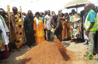 President Cuts Sod For Phase Two Of Kumasi Airport Project