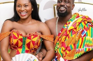 Tracy and Sarkodie