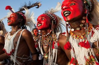 The Intriguing Festival In Niger Which Requires Only Men To Contest In A Beauty Pageant