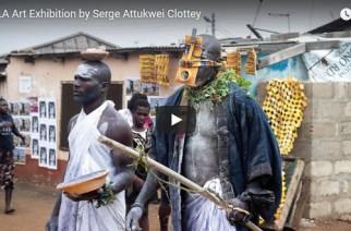 Video: 360 LA Art Exhibition By Serge Attukwei Clottey