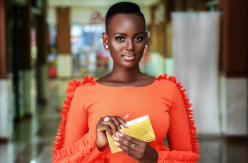 Uganda's Most Beautiful Woman Bettinah Tianah Gets A Stylish Fix Up By Top Fashion Brand, Fatuma Asha