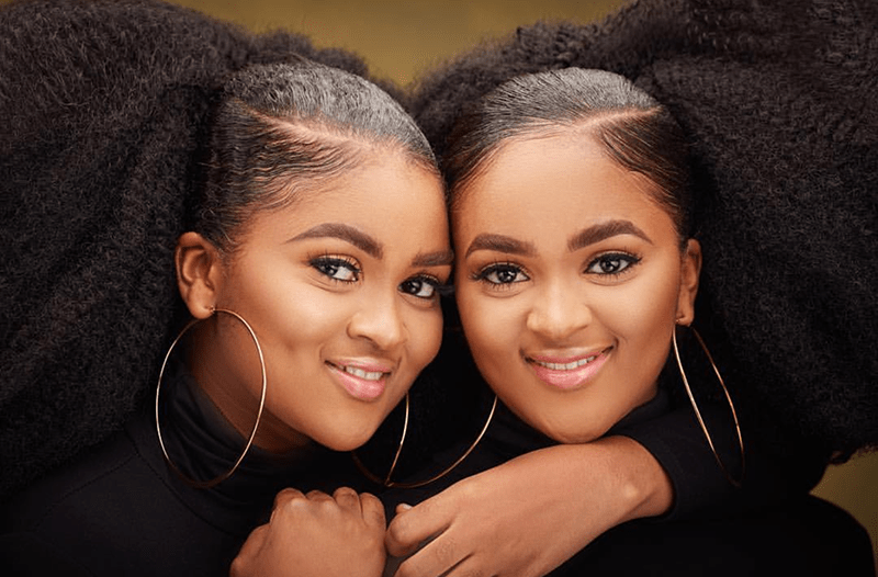 The Two Beautiful Nigerian Afro Twins - Photo Shoot By Big H Studios
