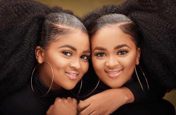 The Two Beautiful Nigerian Afro Twins – Photo Shoot By Big H Studios