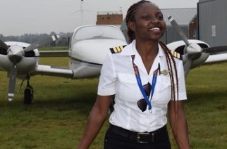 Meet Audrey Maame Esi Swatson - Ghana's youngest female pilot