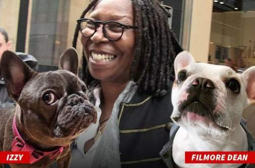 Whoopi with Izzy and Filmore