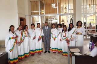 CBE launched an all-female branch -- Photo via @combankethiopia on Twitter