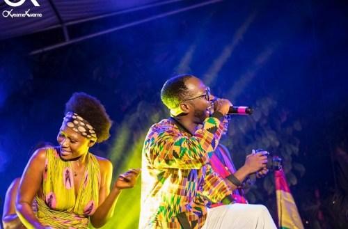Photos: Okyeame Kwame's Made-In-Ghana album launch