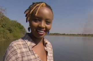 "Soni Methu was proud to be the first Kenyan host of ""Inside Africa."""