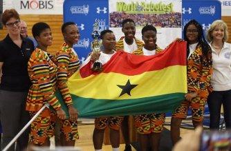 All-girls robotics team from Ghana (Team Acrobot) - Photo: Ghana Robotics Academy Foundation