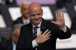 Gianni Infantino re-elected as FIFA President until 2023
