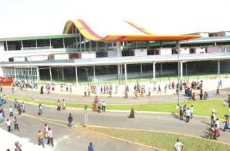 A view of the new Kejetia Market